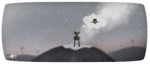 Google's Roswell Doodle