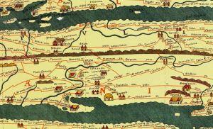 Tabula Peutingeriana map